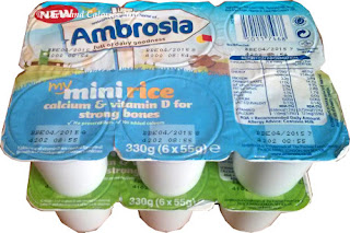 Ambrosia Mini Rice and Custard pots
