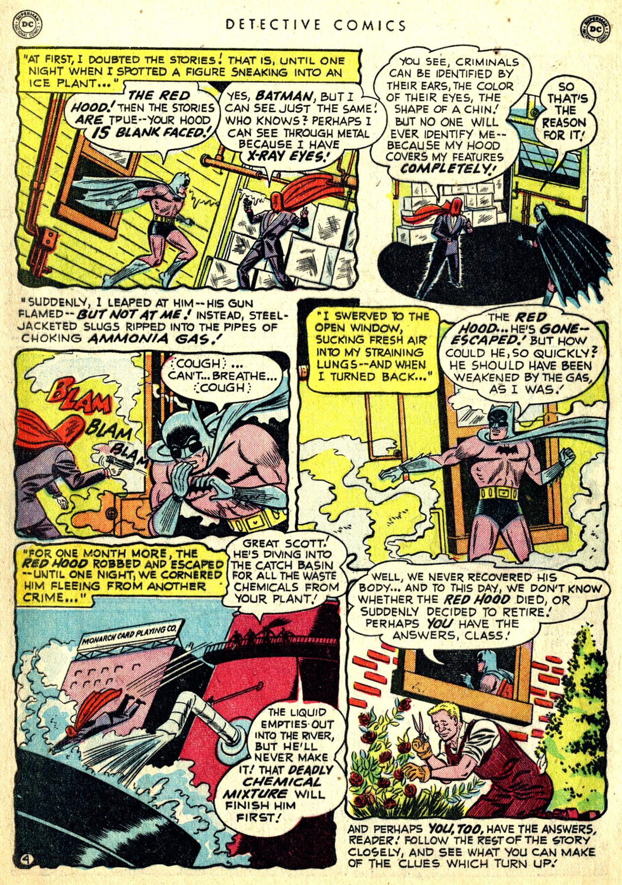 Read online Detective Comics (1937) comic -  Issue #168 - 6