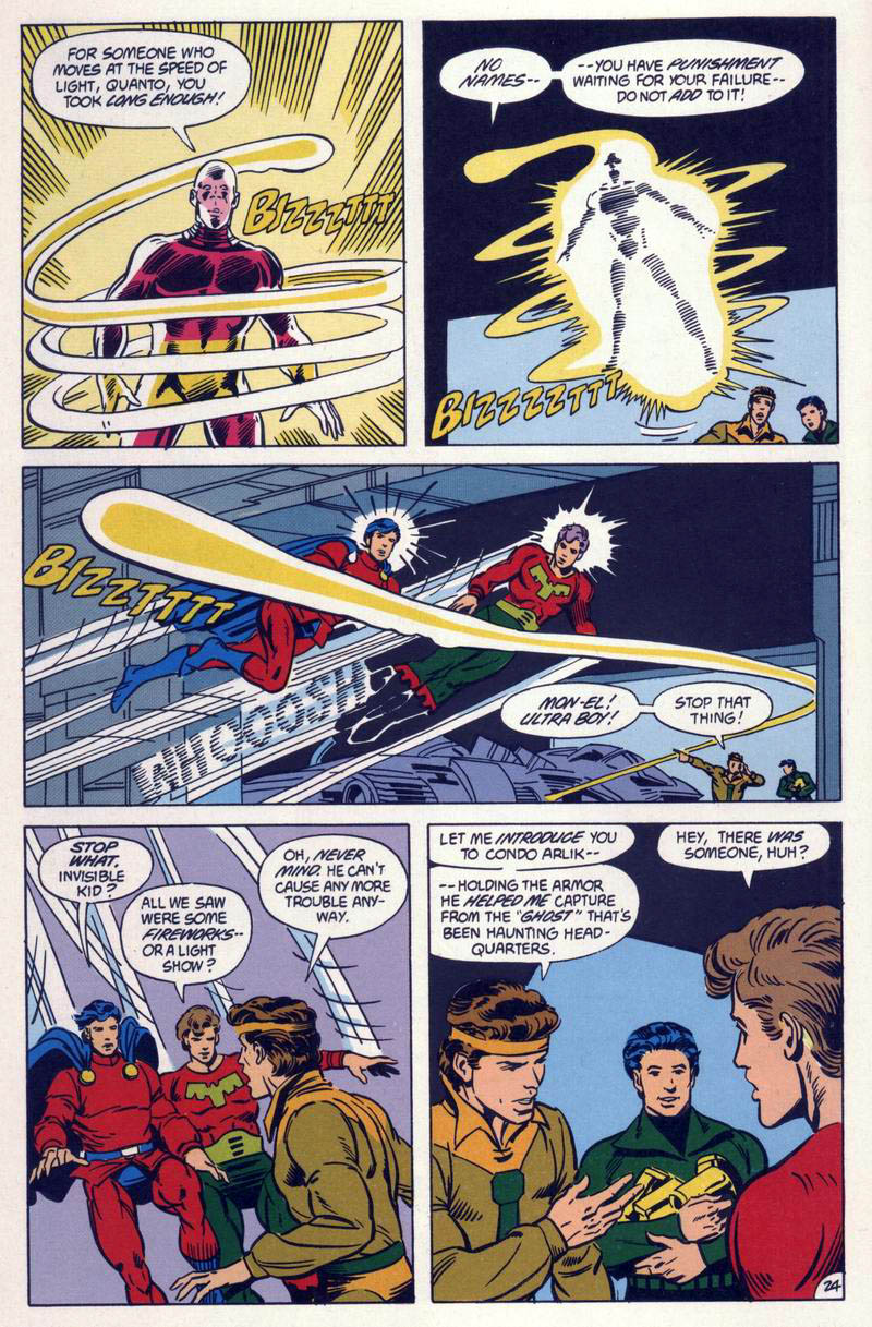 Legion of Super-Heroes (1984) 59 Page 24