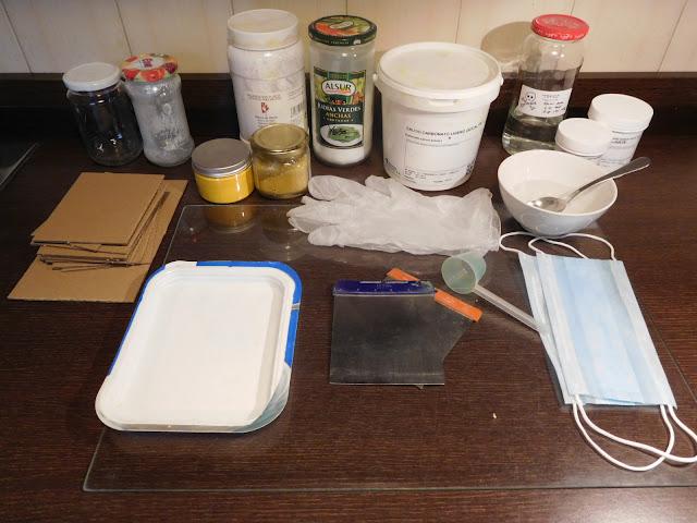 Material Necesario para elaborar nuestra Barras de Pastel
