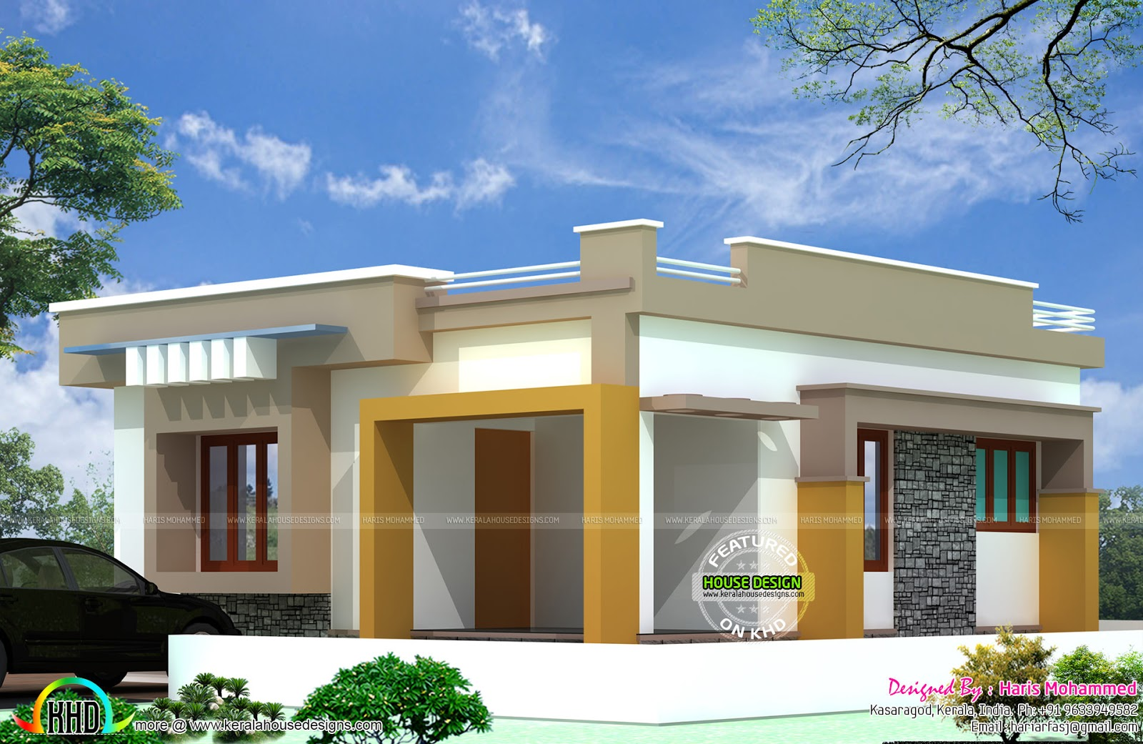10 lakhs budget house plan kerala home design and floor plans Home design and budget