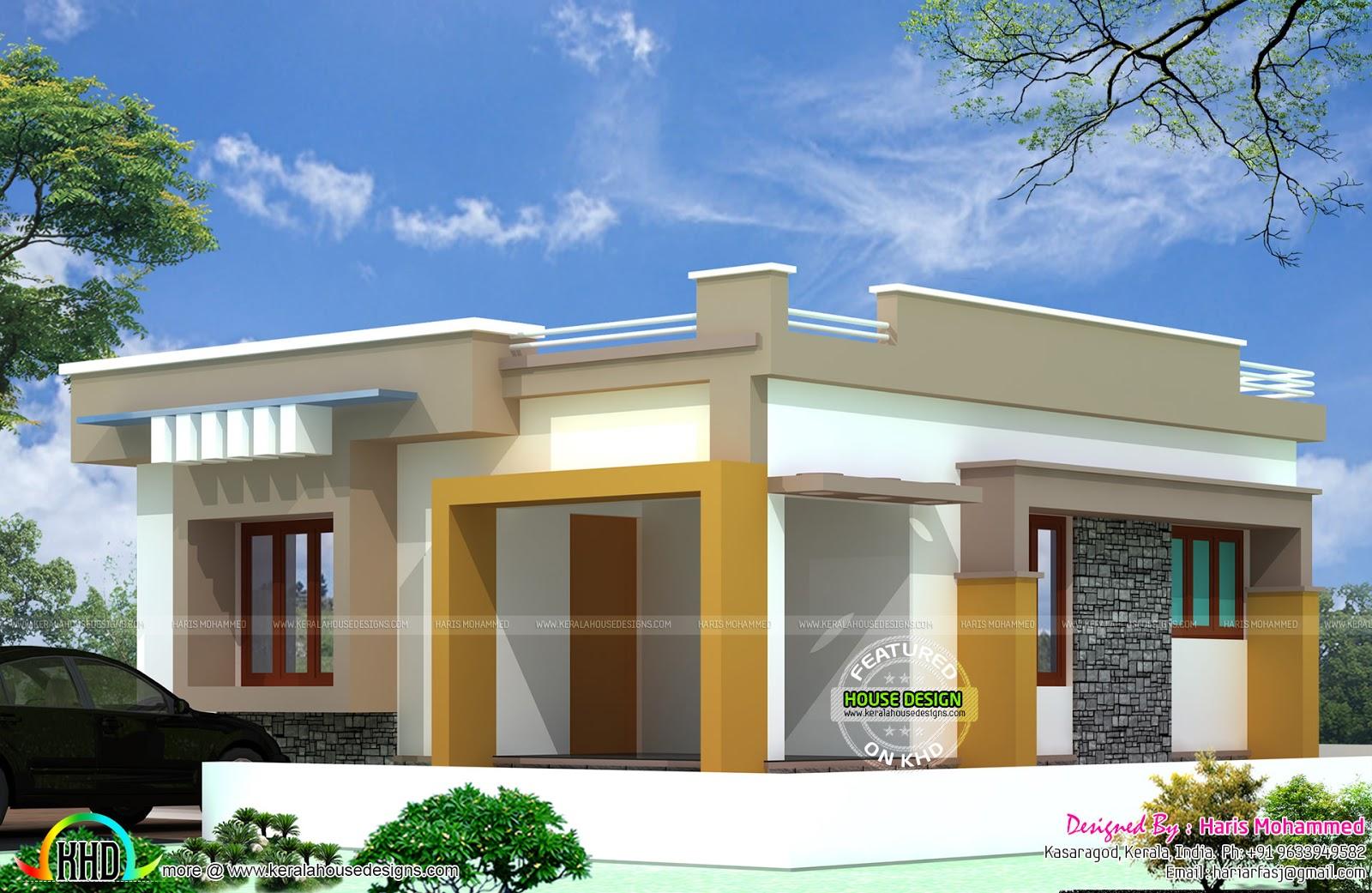 10 Lakhs Budget House Plan Kerala Home Design And Floor