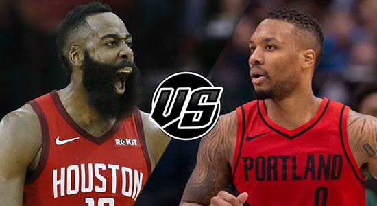 Live Streaming List: Houston Rockets vs Portland Trail Blazers 2018-2019 NBA Season