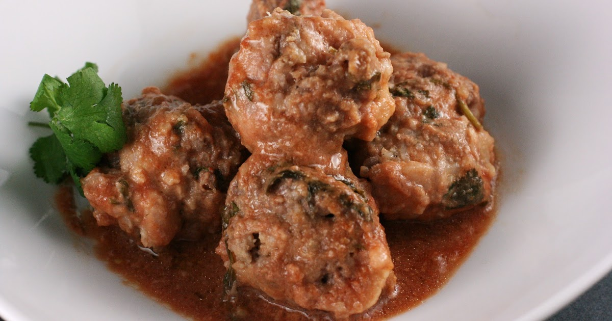 Not Your Mother's Meatballs -- slow cooker recipe