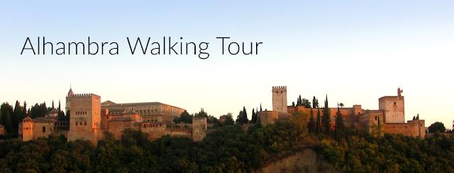 Alhambra Walking Tour