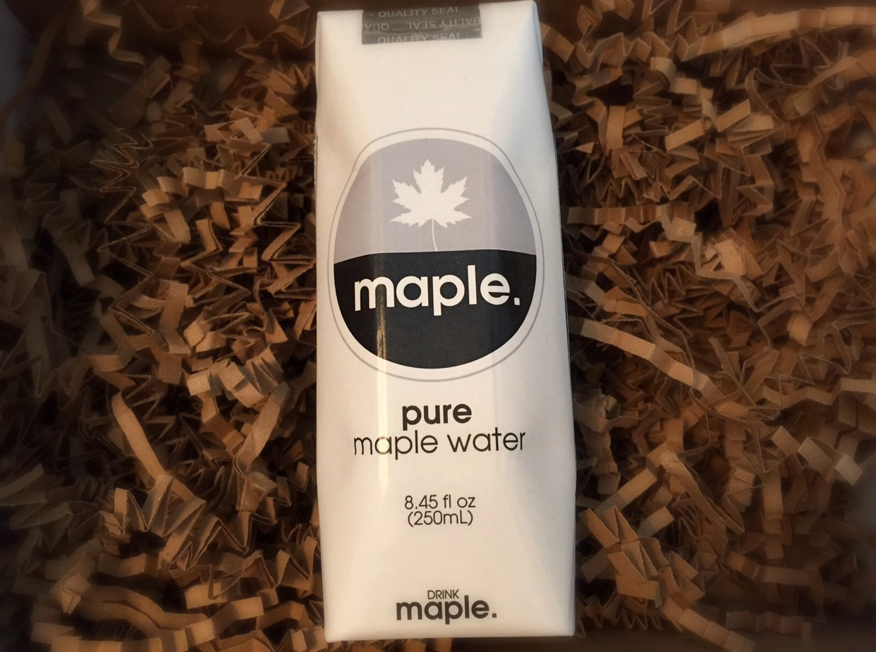 DRINKmaple Pure Organic Maple Water