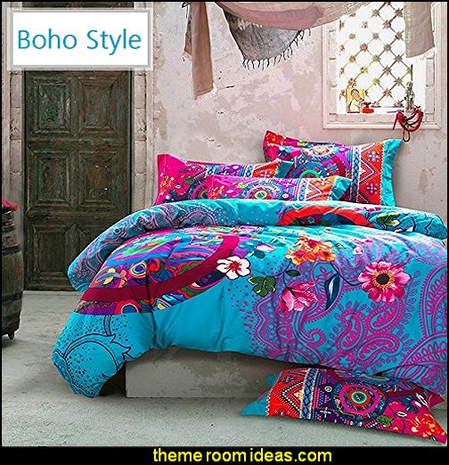 Decorating theme bedrooms - Maries Manor: Boho Style Decorating - Boho decor - Bohemian bedding ...