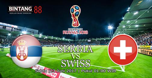 Prediksi Skor Serbia Vs Swis 23 Juni 2018