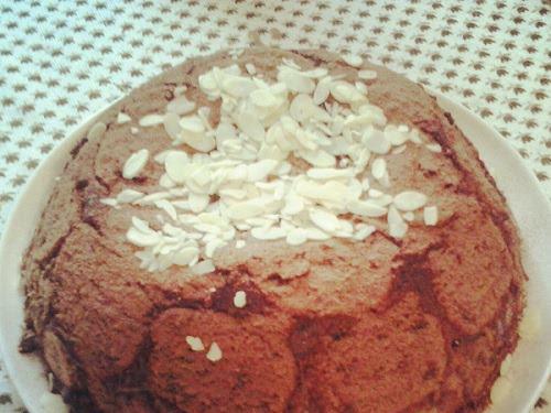 """Лесна шоколадова торта с рула /Торта """"Футболна топка""""/"""