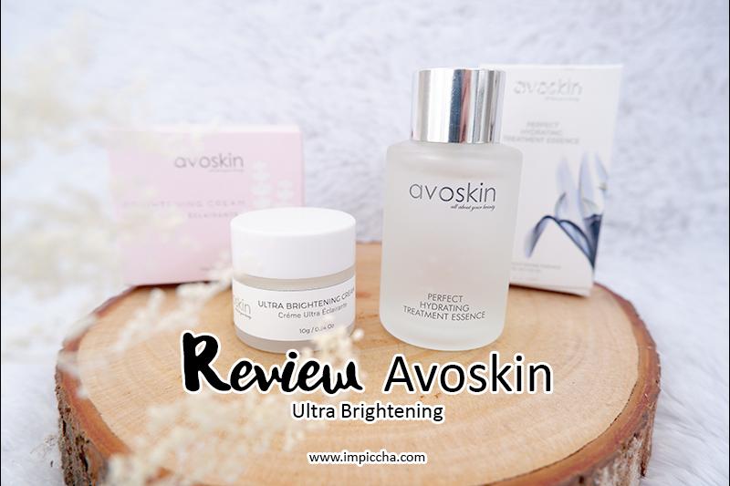 Avoskin Ultra Brightening Cream and Perfect Hydrating Treatment Essence