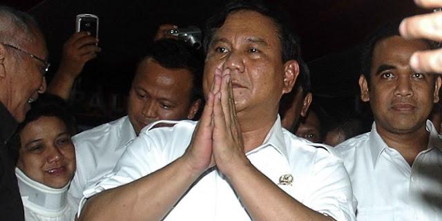Upaya kader Gerindra yakinkan Prabowo nyapres lawan Jokowi