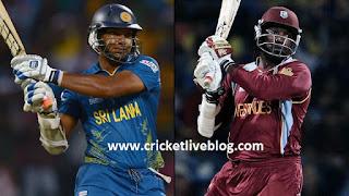 SL vs WI live t20 cricket score 2016