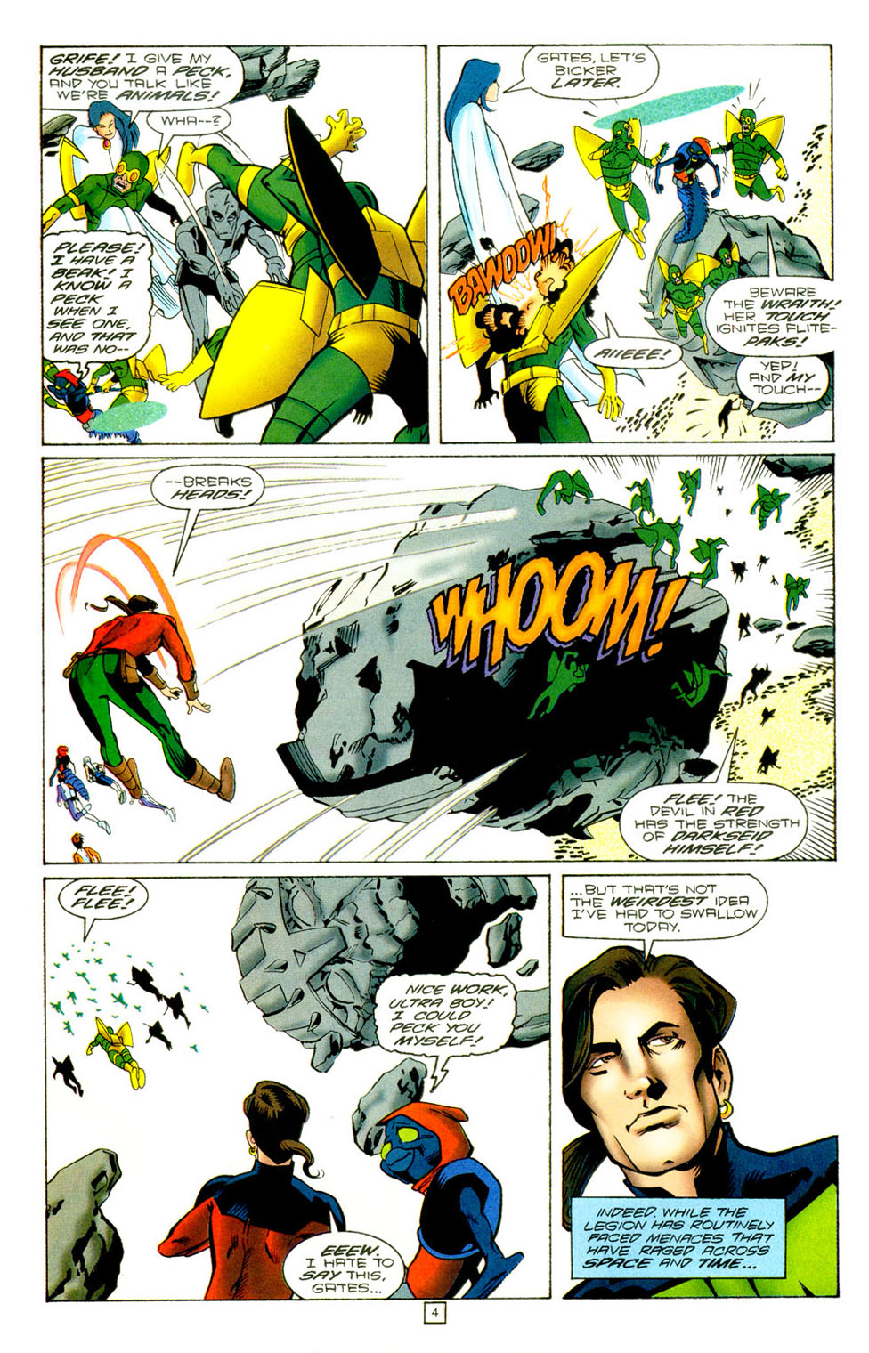 Legion of Super-Heroes (1989) 97 Page 3