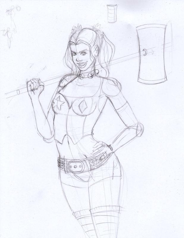[En cours] Harley Quinn Harley_quenn01