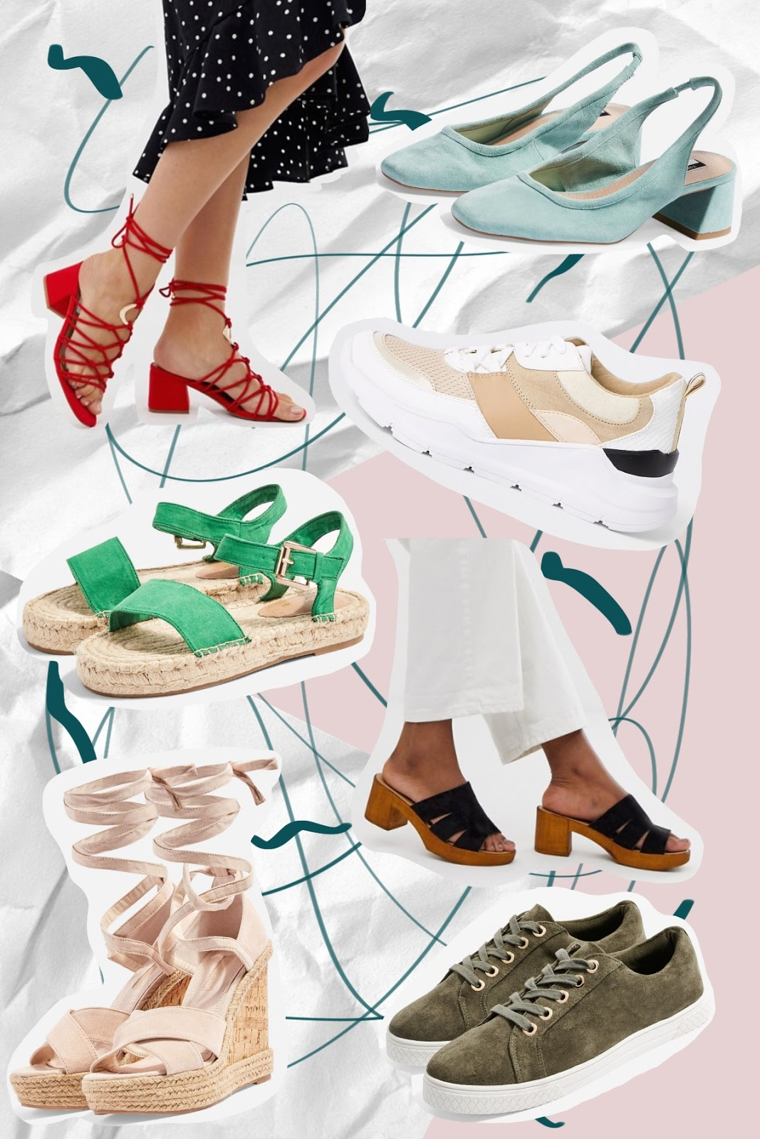 The High Street Guides: Summer Shoes