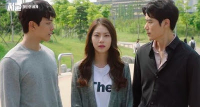 Drama Korea, Korean Drama, Circle, Circle : Two World Connected, Sains Fiksyen, Review By Miss Banu, My Review, Korean Drama Review, Korean Style, Korean Artist, Pelakon, Senarai Pelakon Drama Korea Circle, Yeo Jin Goo, Kong Seung Yeon, Kim Kang Woo, Lee Gi Kwang, An Woo Yeon, Seo Hyun Chul, Han Sang Jin, Min Sung Wook, Jung In Sun, Ending Circle, Circle Season 2, Suspen, Misteri, Alien, Makhluk Asing, Teknologi, Bluebird, Hacker, Canggih, Cip, Memori Dalam Bentuk Video, Smart Earth, Normal Earth,