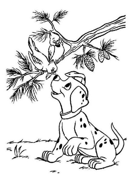 Funny Puppies Coloring Pages for Kids >> Disney Coloring Pages