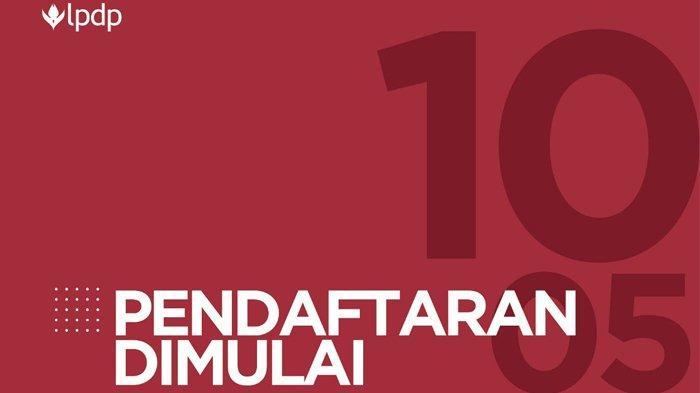 Pendaftaran Beasiswa Pendidikan Indonesia LPDP 2019 Kuliah S2-S3