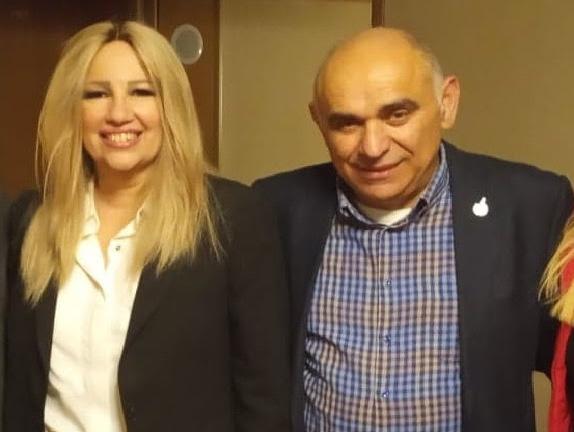 Συνάντηση Μπουντρούκα - Γεννηματά για τις Περιφερειακές εκλογές στην Πελοπόννησο