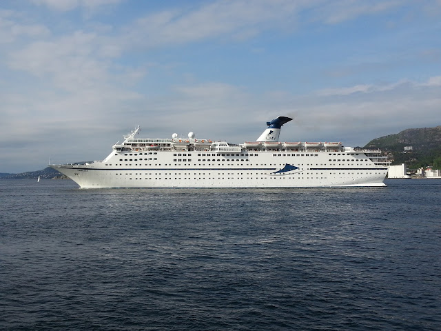 CMV Cruise ship Magellan in Bergen, Norway; Fjord Cruise; Ships in Bergen