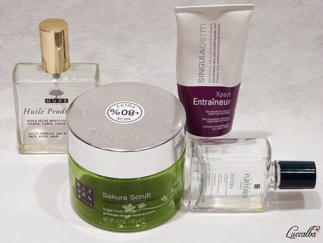 Productos para cabello y cuerpo
