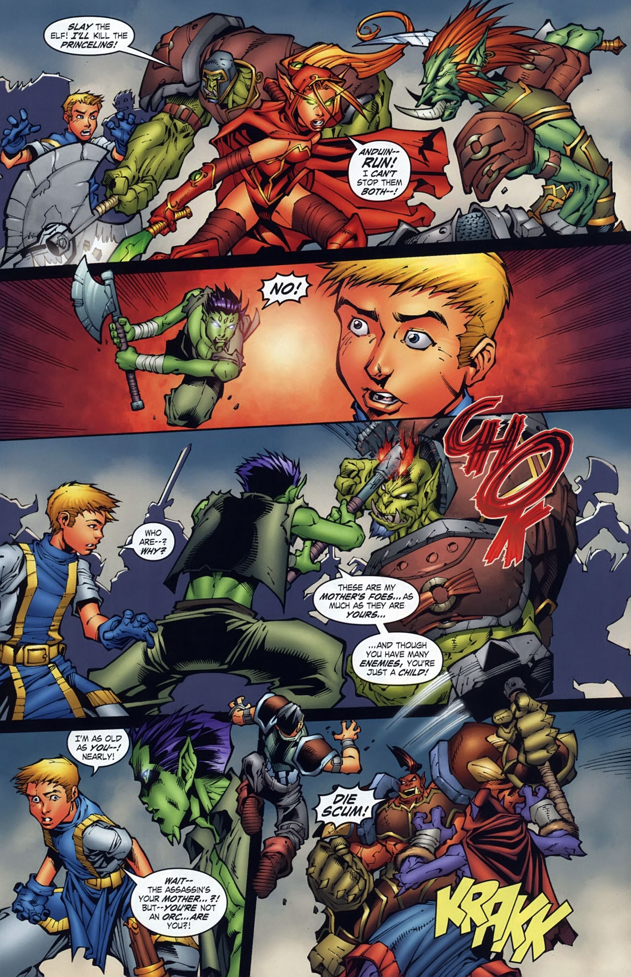 Read online World of Warcraft comic -  Issue #18 - 8