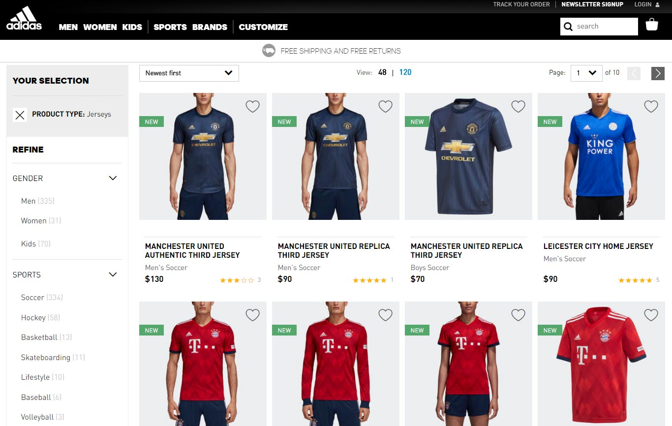 f82f6dc683b Update #2: The Adidas Leicester City 2018-19 home kit is already available  in Adidas' online store, confirming previous leaks.