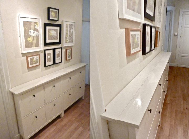 hemnes gets a double topping get home decorating. Black Bedroom Furniture Sets. Home Design Ideas
