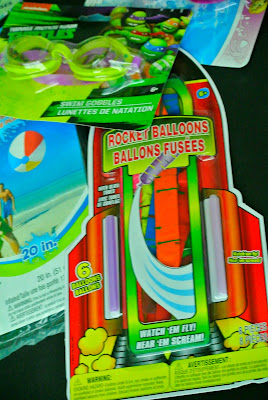 Rocket balloons, summer toys