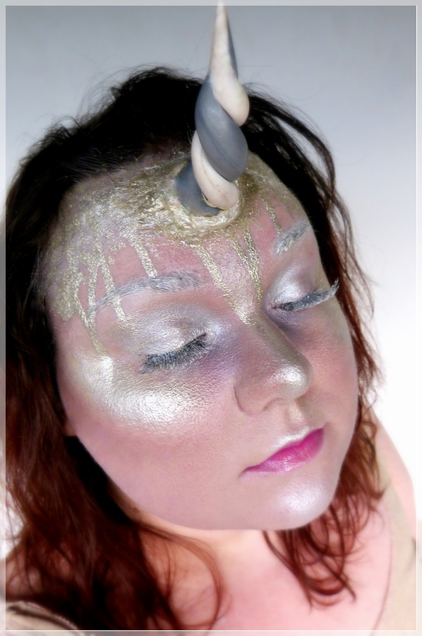 Einhorn Make-up Look