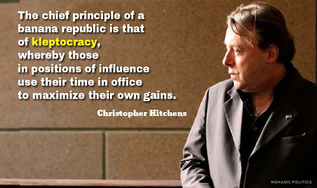 KLEPTOCRACY  Christopher Hitchens