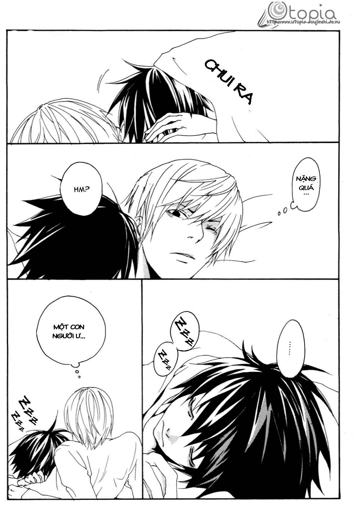 Hình ảnh 003 in Death Note Doujinshi - Feather Plus