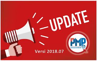 Download Pembaruan Aplikasi Pemetaan PMP 2018.07