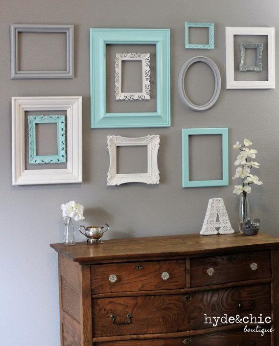 Picture Frame Decorations: Arredamento Stile Shabby Chic: Arredare Interni Ed Esterni