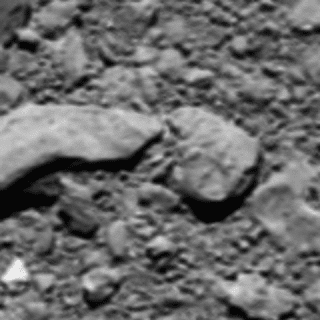 The unusual last image sent by the satellite Rosetta.