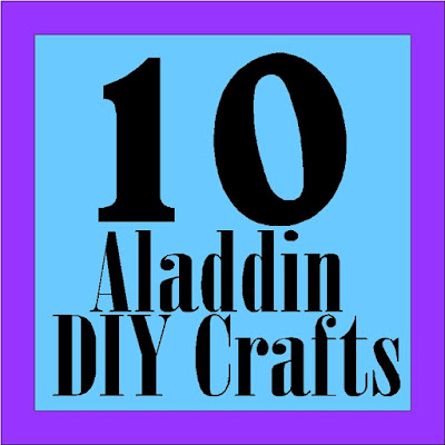 Create some fun at you Aladdin party with these 10 DIY crafts that are perfect for party crafts, party decorations, and party fun.