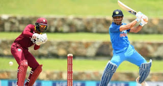 mahendra singh dhoni man of the match against west indies