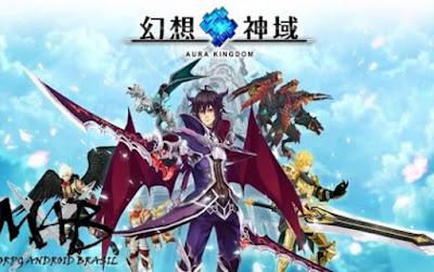 Game Aura Kingdom Mobile 幻想神域 啟源女神 Apk MMORPG v2.2 Android