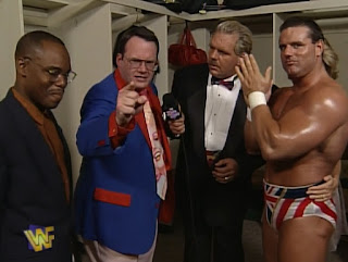 WWF / WWE - King of the Ring 96 - Doc Hendrix interviewed Jim Cornette and Davey Boy Smith