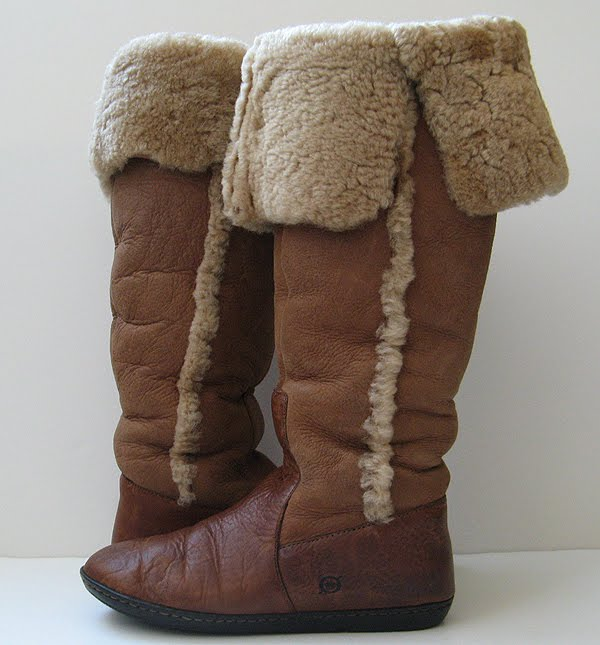 Knee High Tall Boots Ugg Boots Born Boots Shearling Boots