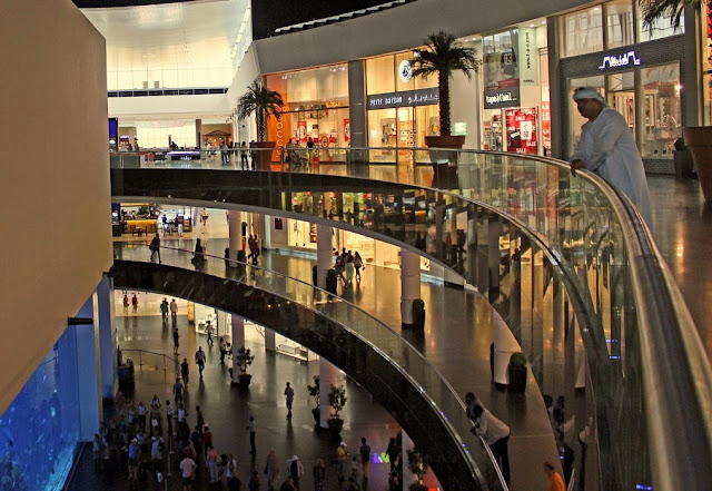 interior of the Dubai Mall