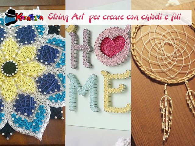 String Art idee decorative