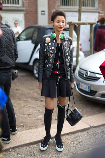 Lip print street style 2016