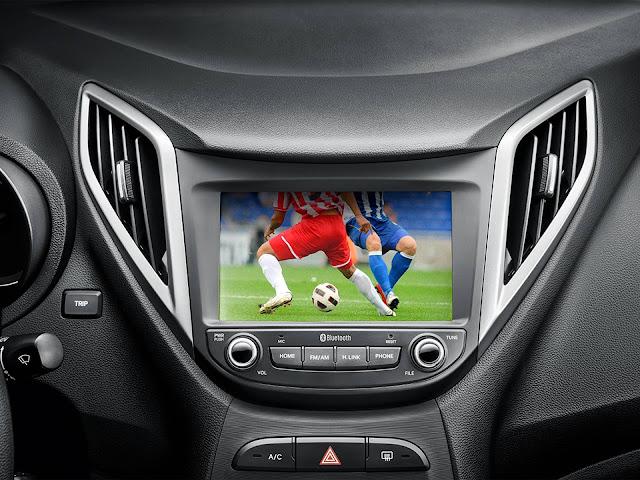 Hyundai HB20 2018 Copa - interior