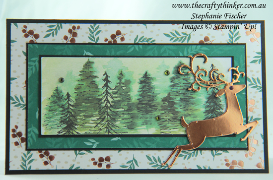 #thecraftythinker  #stampinup  #christmascards  #xmascards  #timelesstidingsprojectkit  #dashingdeer , Christmas cards, Timeless Tidings Project Kit, Joyous Noel paper, Dashing Deer, Stampin' Up Australia Demonstrator, Stephanie Fischer, Sydney NSW