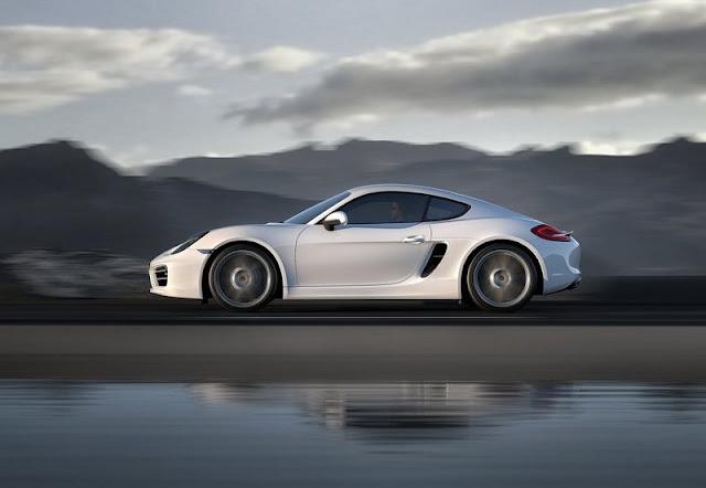 2014 Porsche Cayman Turbo Side