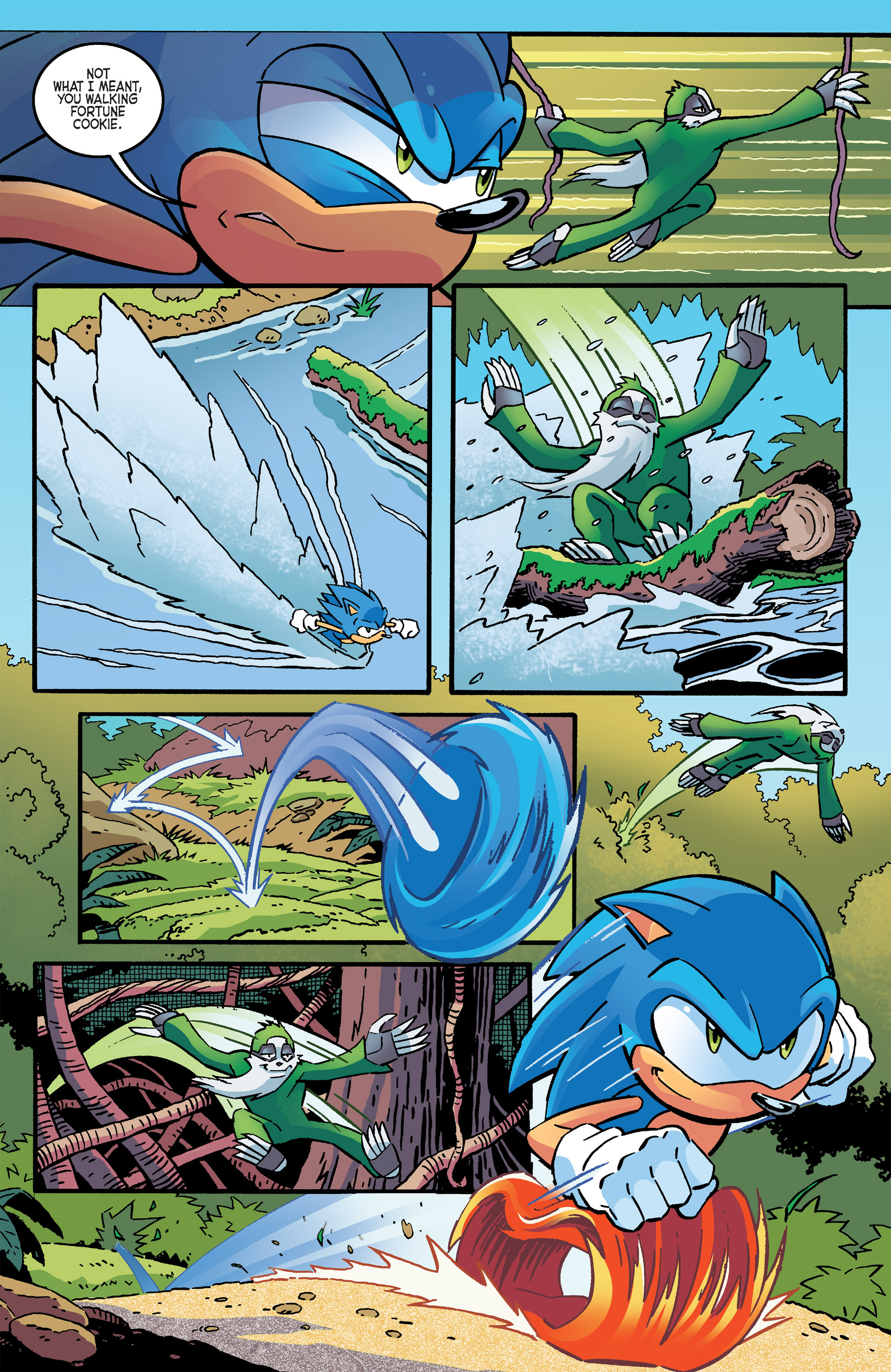 Read online Sonic The Hedgehog comic -  Issue #266 - 4