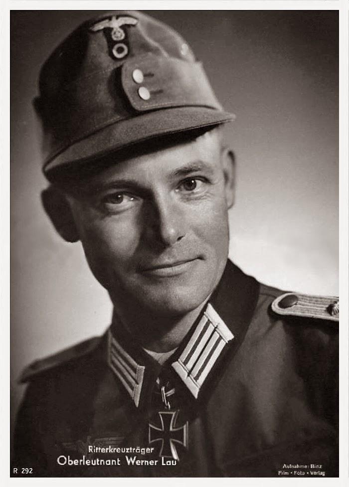 Werner Lau Ritterkreuzträger Knight Cross Holder Postcard