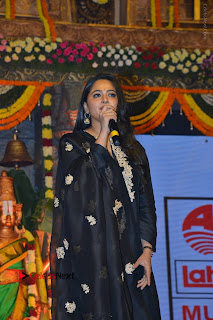 Actress Anushka Anushka Shetty Stills in Black Salwar Kameez at Om Namo Venkatesaya Audio Launch Event  0048.JPG
