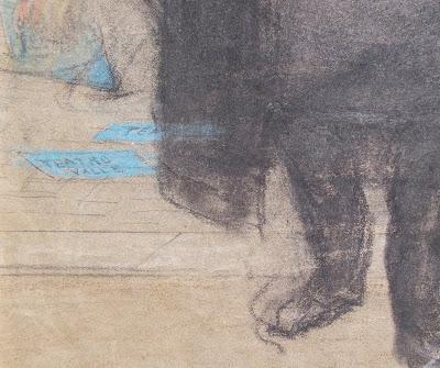 Caricatura ottocentesca - arte - disegni - annunci
